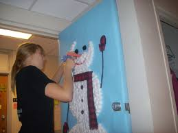 snowman door decorations paper carrot nose onto our snowman great finishing touch dma