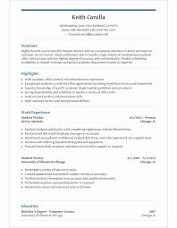 ms office resume templates high school student resume template for microsoft word livecareer