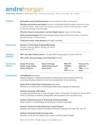 Proper Resume Examples by Customized Resume The Standard Graphic Design Inspiration