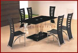 Glass Dining Table For 6 Stunning Dining Table And Six Chairs Wwwizzidealscouk