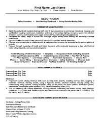 Power Resume Sample by Electrician Resume Template Apprentice Electrician Cover Letters