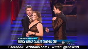 nancy grace wardrobe malfunction on with the 2011