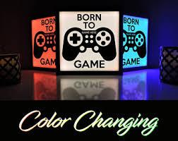 Gaming Room Decor Decor Etsy