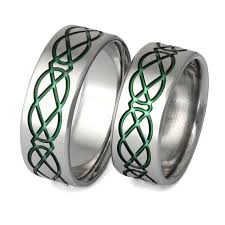 titanium celtic wedding bands titanium celtic jewelry designers
