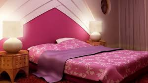 Purple Pink Bedroom - pink bedroom decor frame on the wall decor beside glass window