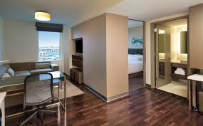 Seaport Accommodations One Bedroom Suite Element Boston Seaport - Two bedroom suite boston