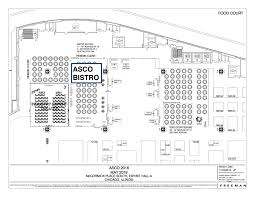 House Of Blues Floor Plan by Asco Bistro American Society Of Clinical Oncology