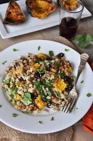 quinoa thanksgiving stuffing warm acorn squash lentil u0026 quinoa salad with sage dressing