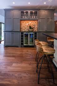 86 best kitchens images on pinterest kitchen kitchen backsplash refined rustic kitchen with gray grey pantry cabinetry cabinets bar metallic copper backsplash