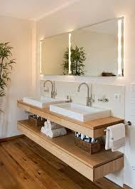 waschtisch design badezimmer design ideen offenen regal unterhalb der arbeitsplatte