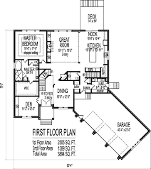 bungalow floor plans with walkout basement 4 bedroom ranch house plans with walkout basement elegant bedroom