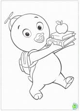 pablo backyardigans coloring pages 2014 sticky pictures