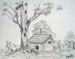 How To Draw Landscapes by How To Draw A Valley Gorge Landscape Scene As It Relates To