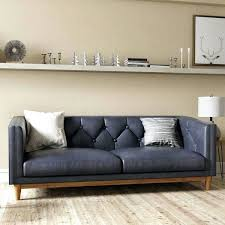 Leather Sofa Sleeper Sale Leather Sofa Vintage Tufted Leather Couch For Sale Black Leather