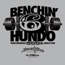 600 Pound Bench Press Shop By Design Ironville Clothing Co