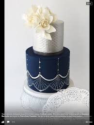 355 best silver cakes images on pinterest wedding cakes silver