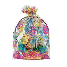 easter basket easter basket bags 12 pack 17 3 4 cellophane