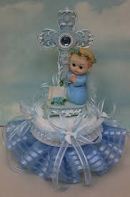 bautizo centerpieces baptism party favors center pieces candles cake tops recuerdos