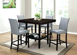 tall round dining table set high kitchen table set dining room extendable table dining height