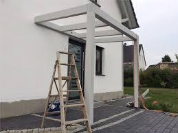 balkon vordach vordach selber bauen haus garten vordach selber