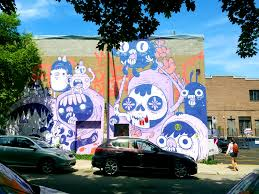 mural hunting montreal the514lifeblog half a wall made by astro for mural fest 2015