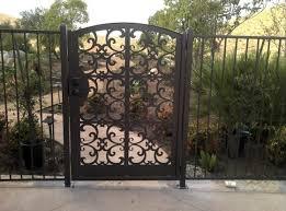 a choice for an ornamental steel gate green house shion