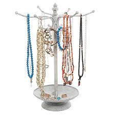 vintage dish ring holder images 12 hook vintage style metal jewelry organizer rack holder stand jpg