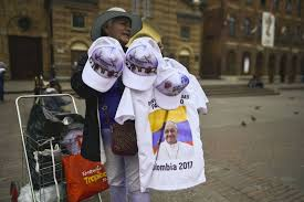 pope francis souvenirs vatican diplomacy with colombia visit pope francis hopes to help