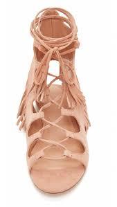 azzia fringe gladiator sandals shopperboard