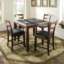 game table and chairs set game tables by american heritage melrose game table free shipping