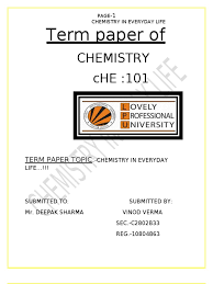 chemistry in daily life essay hospice nurse practitioner cover letter
