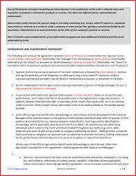 event sponsorship agreement template example resign letter