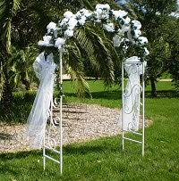 wedding arches melbourne wedding ceremonies and marquee hire melbourne decorated garden