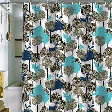 Teal Colored Shower Curtains 5 Colorful Modern Shower Curtains From Deny Designs Retro Renovation