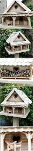 recycled pallets crafted birdhouse pallet ideas