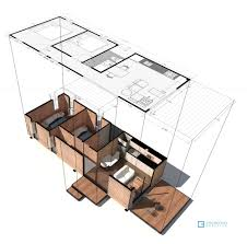 Square Floor Plans For Homes Vimob A 35 Square Meter Prefab House From Columbia