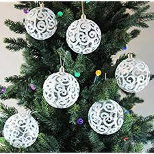 festive season white swirl shatterproof