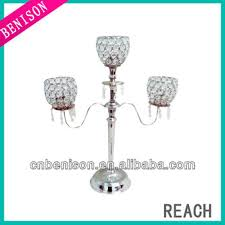 Crystal Wedding Centerpieces Wholesale by Free Shipping Wholesale Acrylic Cheap 3 Arm Crystal Wedding