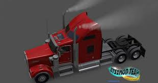 kenworth w900 model truck kenworth w900 with smoke u0026 ai traffic mod american truck