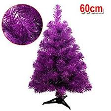 purple christmas tree purple trees seasonal décor home kitchen