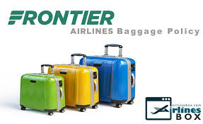 frontier airlines baggage allowance airlinesbox com