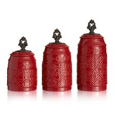 fleur de lis canisters for the kitchen atelier anila ceramic set of 3 canisters