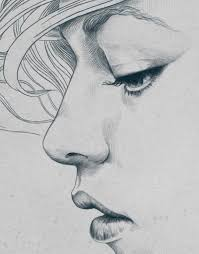 pencil sketches of couples close face pencil drawing collection