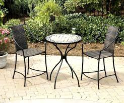 Black Metal Bistro Table Lush Height Bistro Patio Set Black Table Ideas As Patio Bistro Set