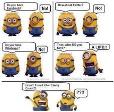 Meme Strip - funny minion cartoon strip meme and lol