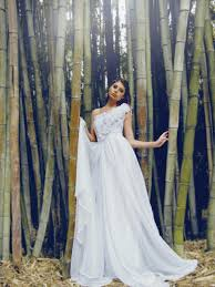 Theodora By Lauren Elaine Bridal Ethereal Lace U0026 Chiffon A Line Gown
