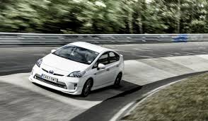 toyota prius the toyota prius trd just clocked a nurburgring record