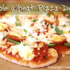 Pizza Dough In A Bread Machine Bread Machine Recipes Thriving Home