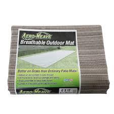 Rv Awning Mats 8 X 20 by Aeroweave Breathable Outdoor Mat Santa Fe 6 U0027 X 15 U0027 Prest O