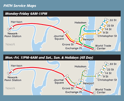 light rail schedule w line maps path the port authority of ny nj